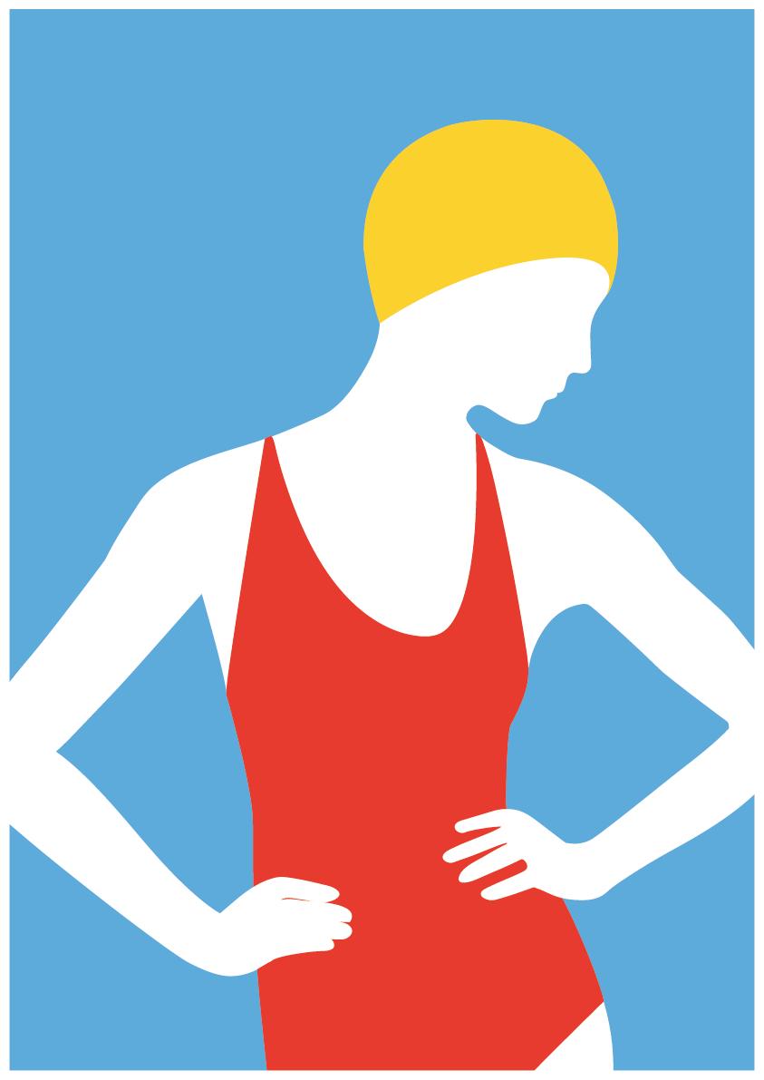 Luisa Tosetto – Swimming Series – Elegant Swim