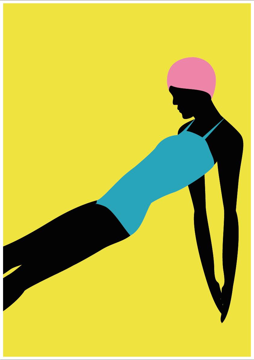 Luisa Tosetto – Swimming Series – Swimming fall