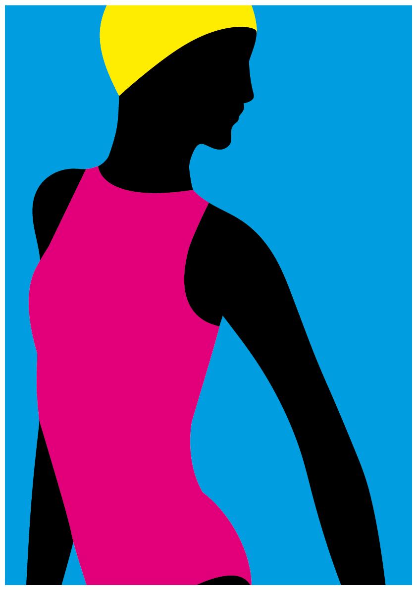 Luisa Tosetto – Swimming Series – CMYK swim