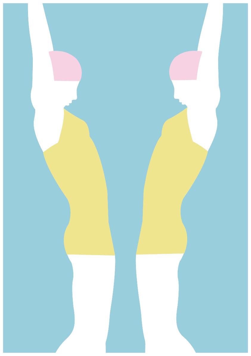 Luisa Tosetto – Swimming Series – Swimming inside