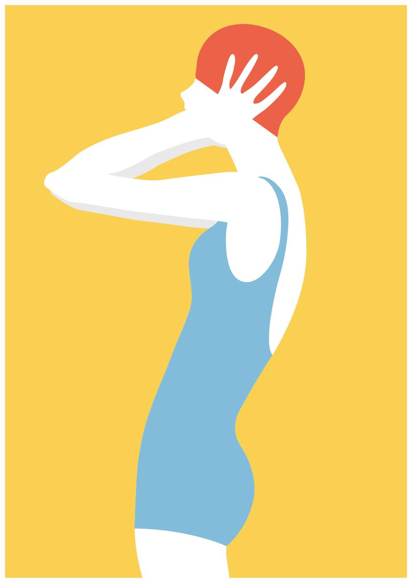 Luisa Tosetto – Swimming Series – Swimming Beauty