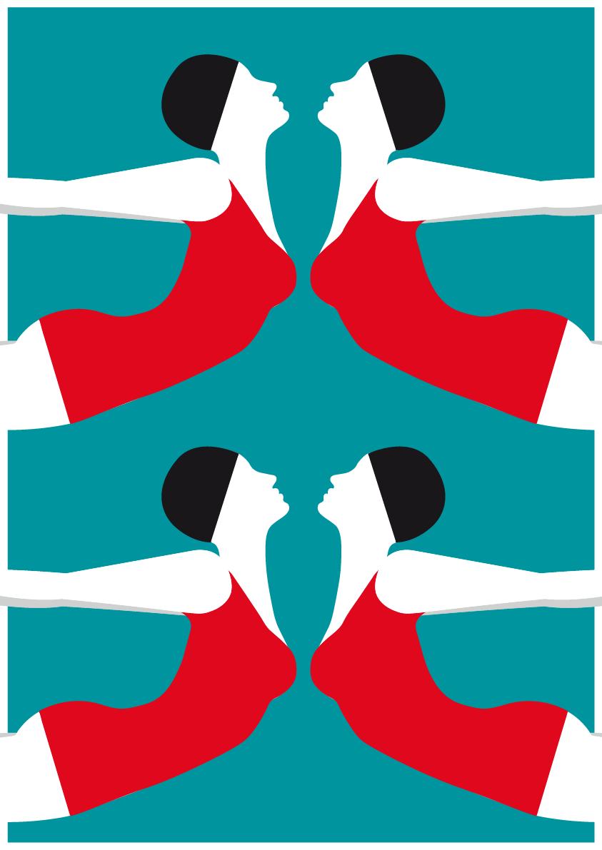 Luisa Tosetto – Swimming Series – Swim in flight